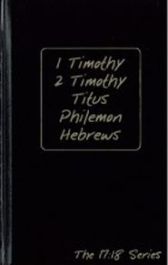 1 & 2 Timothy, Titus, Philemon, Hebrews Grace and Truth Books