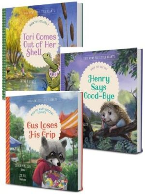 Good News for Little Hearts bundle two book images