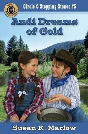 Andi Dreams of Gold book cover
