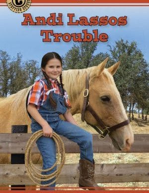 Andi Lassos Trouble book cover