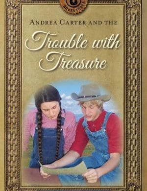 Andrea Carter and the Trouble with Treasure book cover