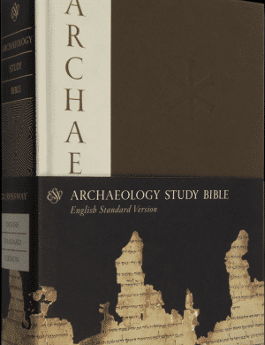 ESV Archaeology Study Bible book cover