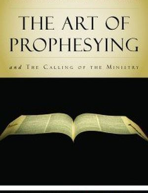 The Art of Prophesying book image