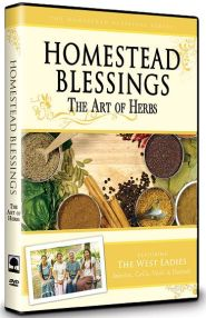 Homestead Blessings The Art of Herbs Grace and Truth Books