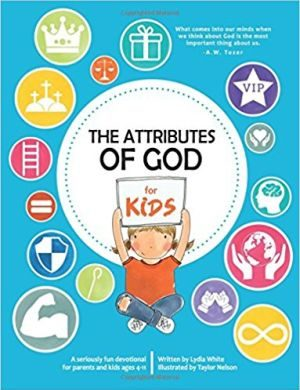 Attributes of God for Kids book cover