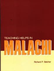 Teaching Helps in Malachi Grace and Truth Books