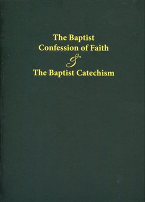 The Baptist Confession paperback book cover