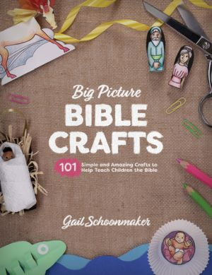 Big Picture Bible Crafts book cover