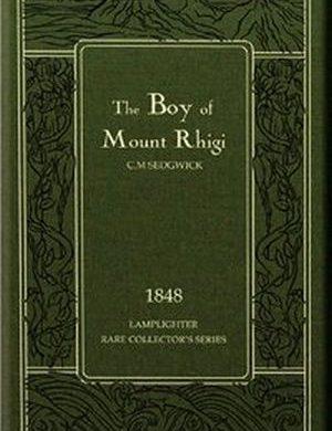 The Boy of Mount Rhigi book cover