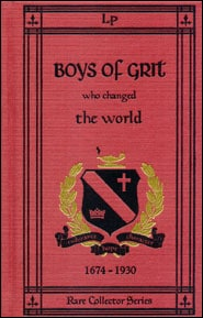 Boys of Grit Who Changed the World Grace and Truth Books