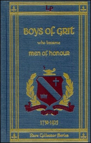 Boys of Grit Who Became Men of Honor Grace and Truth Books
