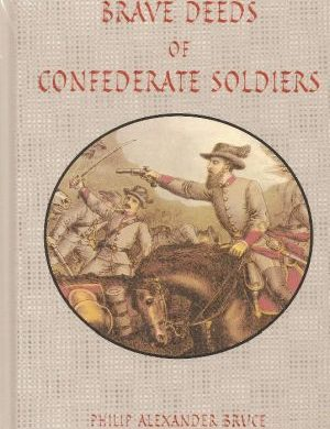 Brave Deeds of Confederate Soldiers book cover