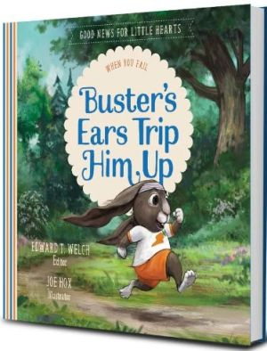 Buster's Ears Trip Him Up book cover