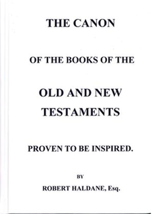The Canon of the Books of the Old and New Testaments book cover