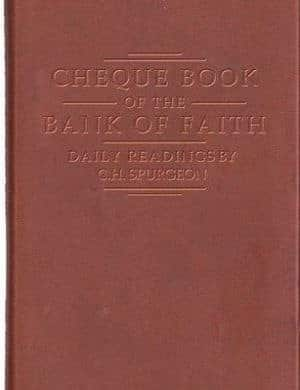 Cheque Book of the Bank of Faith book cover