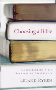 Choosing a Bible Grace and Truth Books
