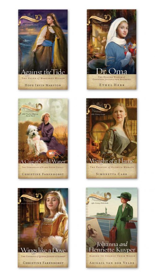 Chosen Daughters set of 6 books image