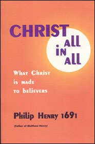 Christ All in All Grace and Truth Books