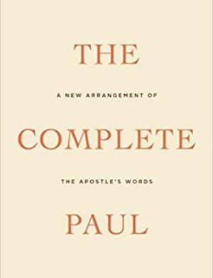 The Complete Paul book cover