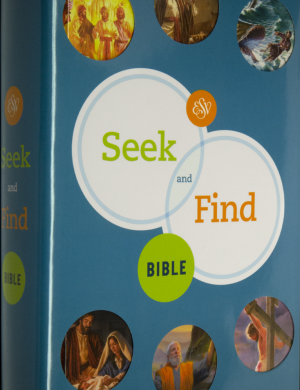ESV Seek and Find Bible cover