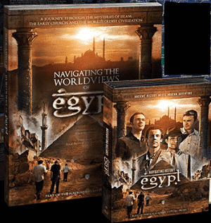 Navigating History Egypt DVD cover