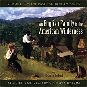 An English Family in the Wilderness audio CD cover