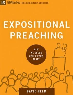 Expositional Preaching book cover