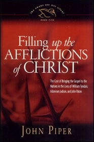 Filling up the afflictions of Christ Grace and Truth Books