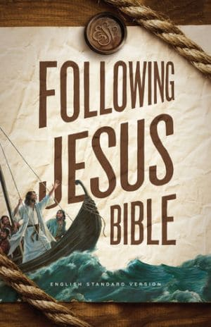 Following Jesus Bible Hardcover book image