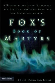 Fox's Book of Martyrs book cover