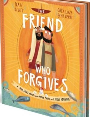 The Friend Who Forgives book cover
