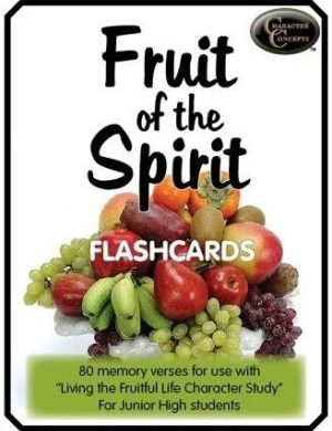 Fruit of the Spirit flash cards