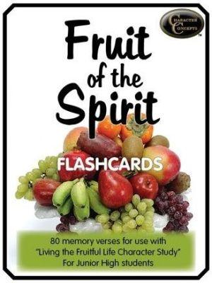 Fruit of the Spirit flash cards