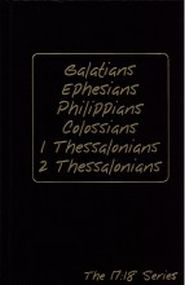 Galatians, Ephesians, Philippians, Colossians, 1 & 2 Thessalonians Grace and Truth Books