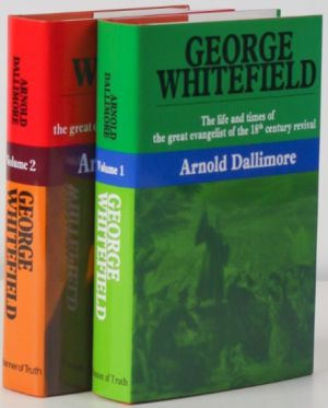George Whitefield biography 2 volumes book covers