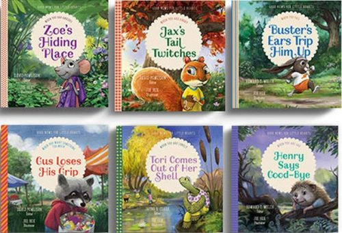 Good News for Little Hearts full set book covers