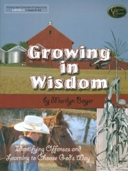 Growing in Wisdom Grace and Truth Books