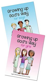 Growing Up God's Way for Boys & Girls Grace and Truth Books
