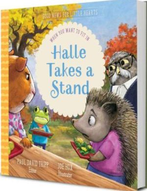 Halle Takes a Stand book cover