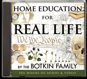 Home Education for Real Life DVD cover