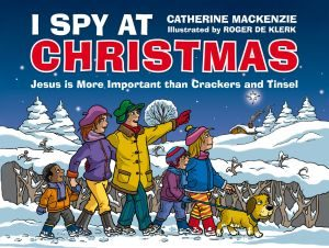 I Spy at Christmas book cover