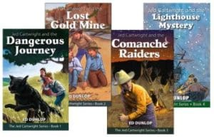 Jed Cartwright Series book covers