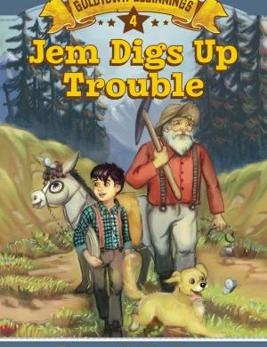 Jem Digs Up Trouble book cover