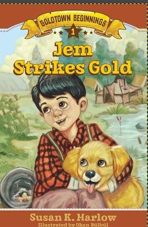 Jem Strikes Gold book cover