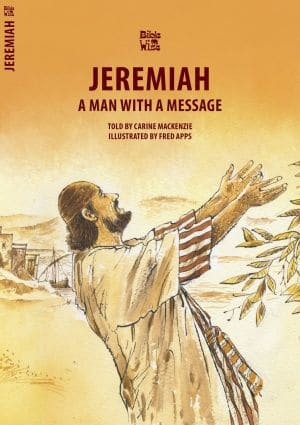 Jeremiah A Man with a Message book cover