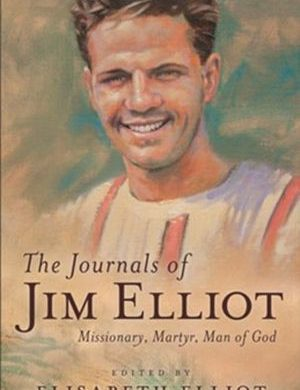 Journals of Jim Elliot book cover