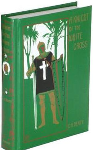 A Knight of the White Cross book cover
