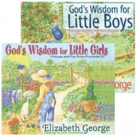 God's Wisdom Little Boys & Girls book set