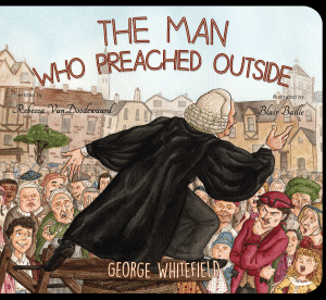 The Man Who Preached Outside book cover