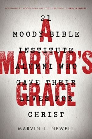 A Martyr's Grace book cover